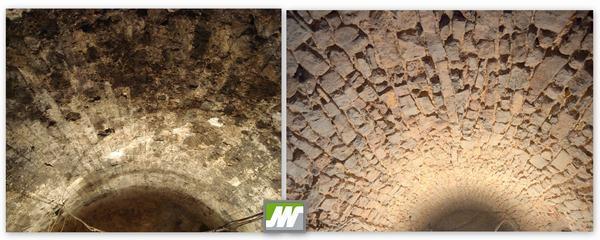 Restauració volta de pedra